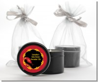 Chinese New Year Snake - Baby Shower Black Candle Tin Favors