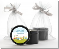 Choo Choo Train - Baby Shower Black Candle Tin Favors