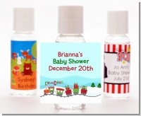 Choo Choo Train Christmas Wonderland - Personalized Christmas Hand Sanitizers Favors