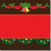 Christmas Wreath and Bells Christmas Theme