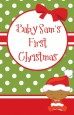 Christmas Baby African American - Personalized Baby Shower Wall Art thumbnail