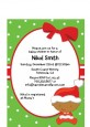 Christmas Baby African American - Baby Shower Petite Invitations thumbnail