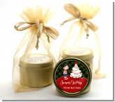 Christmas Boy - Christmas Gold Tin Candle Favors
