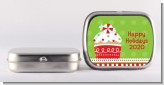 Christmas Cupcake - Personalized Christmas Mint Tins