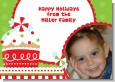 Christmas Cupcake - Personalized Photo Christmas Cards thumbnail