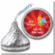 Christmas Ornaments - Hershey Kiss Christmas Sticker Labels thumbnail
