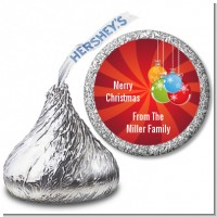 Christmas Ornaments - Hershey Kiss Christmas Sticker Labels