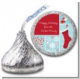 Christmas Spectacular - Hershey Kiss Christmas Sticker Labels thumbnail