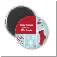 Christmas Spectacular - Personalized Christmas Magnet Favors