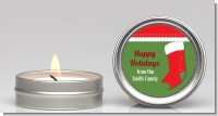 Christmas Stocking - Christmas Candle Favors