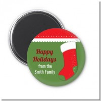 Christmas Stocking - Personalized Christmas Magnet Favors