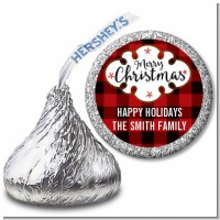 Christmas Time - Hershey Kiss Christmas Sticker Labels