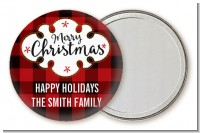 Christmas Time - Personalized Christmas Pocket Mirror Favors