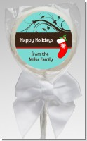 Christmas Tree and Stocking - Personalized Christmas Lollipop Favors