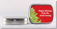 Christmas Tree - Personalized Christmas Mint Tins
