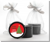 Christmas Tree - Christmas Black Candle Tin Favors