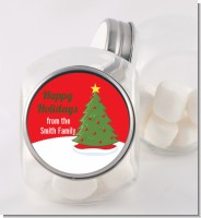 Christmas Tree - Personalized Christmas Candy Jar