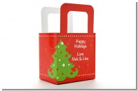 Christmas Tree - Personalized Christmas Favor Boxes