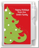 Christmas Tree - Christmas Personalized Notebook Favor