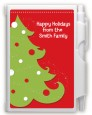 Christmas Tree - Christmas Personalized Notebook Favor thumbnail