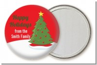 Christmas Tree - Personalized Christmas Pocket Mirror Favors