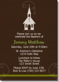 Church - Baptism / Christening Invitations