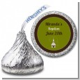 Church - Hershey Kiss Baptism / Christening Sticker Labels thumbnail
