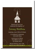 Church - Baptism / Christening Petite Invitations