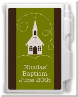 Church - Baptism / Christening Personalized Notebook Favor