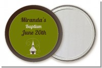 Church - Personalized Baptism / Christening Pocket Mirror Favors