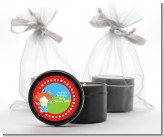 Circus Clown - Birthday Party Black Candle Tin Favors