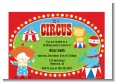 Circus - Birthday Party Petite Invitations thumbnail