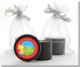 Circus Lion - Birthday Party Black Candle Tin Favors