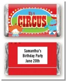 Circus - Personalized Birthday Party Mini Candy Bar Wrappers