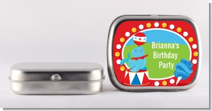 Circus - Personalized Birthday Party Mint Tins