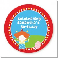 Circus - Personalized Birthday Party Table Confetti