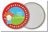 Circus Clown - Personalized Birthday Party Pocket Mirror Favors