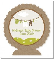 Clothesline It's A Baby - Personalized Baby Shower Centerpiece Stand