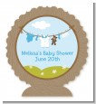 Clothesline It's A Boy - Personalized Baby Shower Centerpiece Stand thumbnail