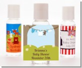 Clothesline It's A Boy - Personalized Baby Shower Hand Sanitizers Favors