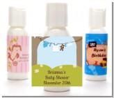 Clothesline It's A Boy - Personalized Baby Shower Lotion Favors