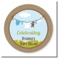 Clothesline It's A Boy - Personalized Baby Shower Table Confetti thumbnail
