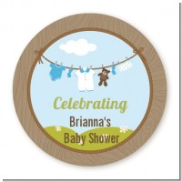 Clothesline It's A Boy - Personalized Baby Shower Table Confetti