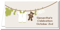 Clothesline It's A Baby - Personalized Baby Shower Place Cards