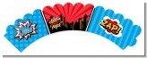 Calling All Superheroes - Birthday Party Cupcake Wrappers