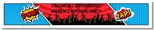 Calling All Superheroes - Personalized Birthday Party Banners