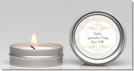 Con-Grad-ulations - Graduation Party Candle Favors