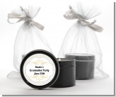 Con-Grad-ulations - Graduation Party Black Candle Tin Favors