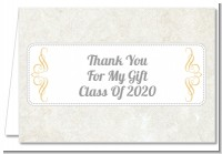 Con-Grad-ulations - Graduation Party Thank You Cards