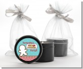 Cookie Exchange - Christmas Black Candle Tin Favors